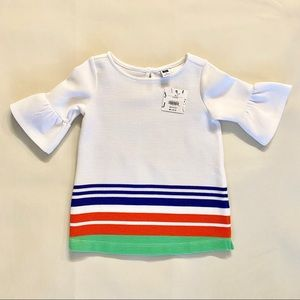 NWT janie and jack toddler ribbed ponte tunic